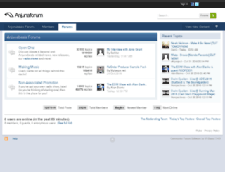 forum.anjunabeats.com screenshot