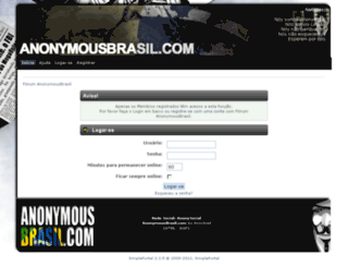 forum.anonymousbrasil.com screenshot