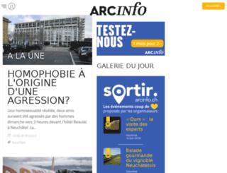 forum.arcinfo.ch screenshot