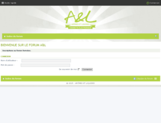 forum.aromes-et-liquides.fr screenshot