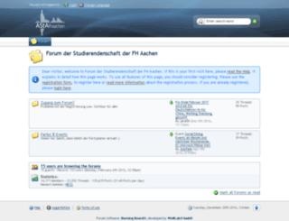 forum.asta.fh-aachen.de screenshot