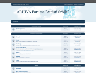 forum.ateisti.com screenshot