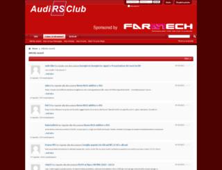 forum.audirsclub.it screenshot