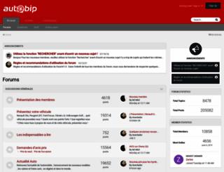 forum.autobip.com screenshot