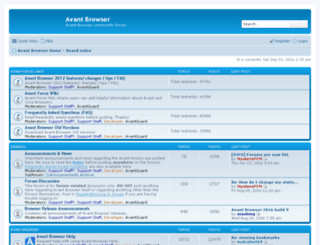 forum.avantbrowser.com screenshot