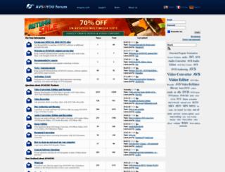 forum.avs4you.com screenshot
