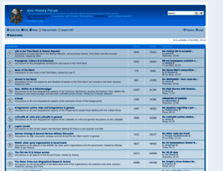 forum.axishistory.com screenshot