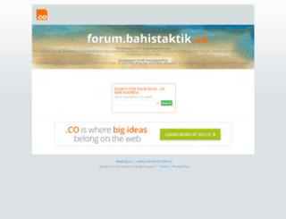 forum.bahistaktik.co screenshot