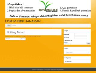 forum.bibittanaman.co.id screenshot