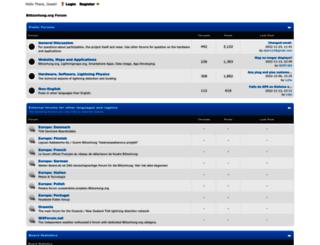 forum.blitzortung.org screenshot