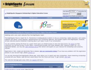 forum.brightsparks.com.sg screenshot