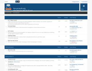 forum.bulli.org screenshot