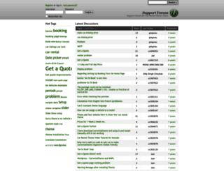 forum.carrentaltheme.com screenshot