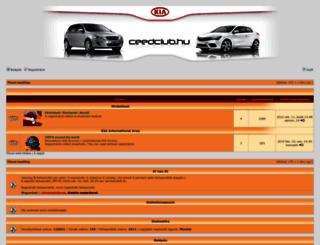 forum.ceedclub.hu screenshot