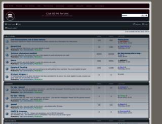 forum.club8090.co.uk screenshot