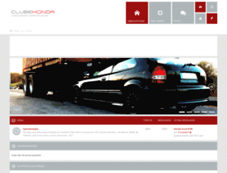 forum.clubehonda.com screenshot