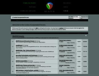 forum.cockos.com screenshot