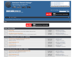 forum.cog-online.org screenshot