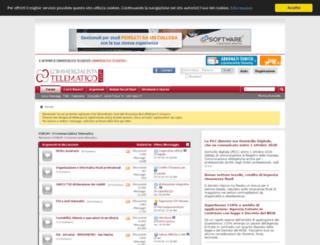 forum.commercialistatelematico.com screenshot
