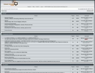 forum.computer-technology.co.uk screenshot