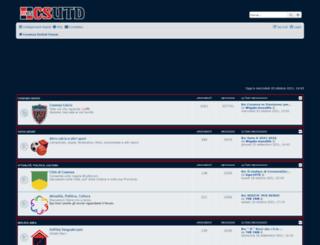 forum.cosenzaunited.org screenshot