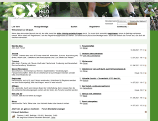 forum.cx-sport.de screenshot