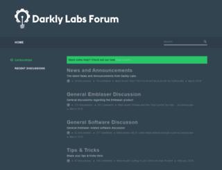 forum.darklylabs.com screenshot