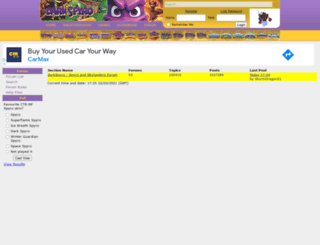 forum.darkspyro.net screenshot