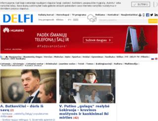 forum.delfi.lt screenshot