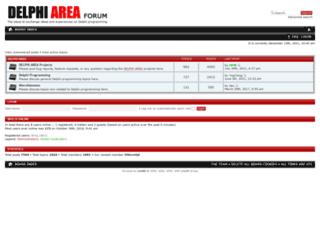 forum.delphiarea.com screenshot
