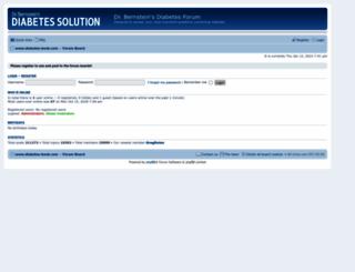 forum.diabetes-book.com screenshot