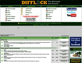 forum.difflock.com screenshot