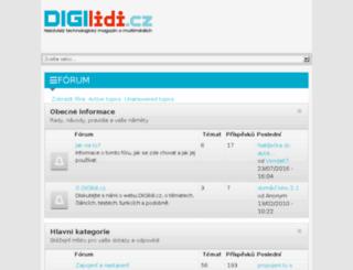 forum.digilidi.cz screenshot