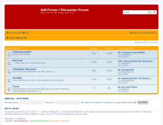 forum.discounter-archiv.de screenshot