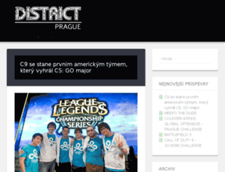 forum.district-prague.eu screenshot