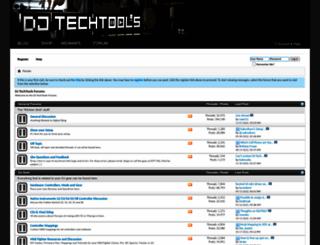forum.djtechtools.com screenshot