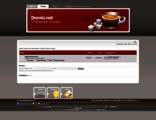forum.domki.net screenshot