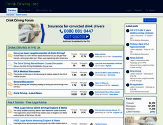forum.drinkdriving.org screenshot