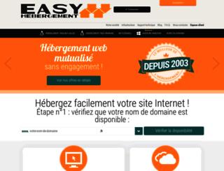 forum.easy-hebergement.fr screenshot