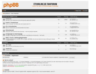 forum.etconline.de screenshot