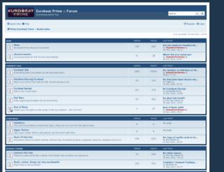 forum.eurobeat-prime.com screenshot