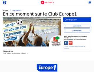 forum.europe1.fr screenshot