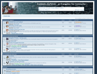 forum.evageeks.org screenshot