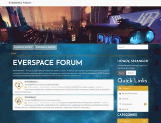 forum.everspace-game.com screenshot