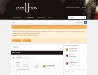 forum.evolutionfr.com screenshot