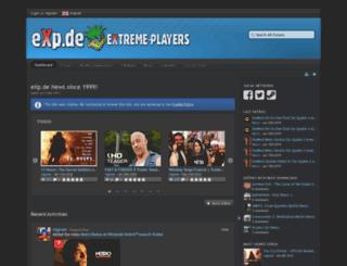 forum.exp.de screenshot