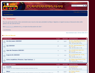 forum.fcbarcelonaclan.com screenshot