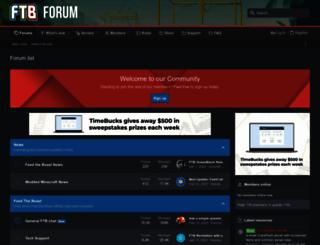 forum.feed-the-beast.com screenshot