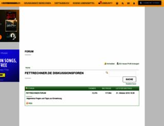 forum.fettrechner.de screenshot