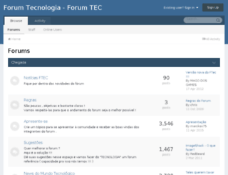 forum.forumtec.com.br screenshot